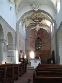 Reichenau, St. Peter und Paul, Blick auf den Altar