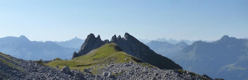 Saladinaspitze-Bergpanoramabild