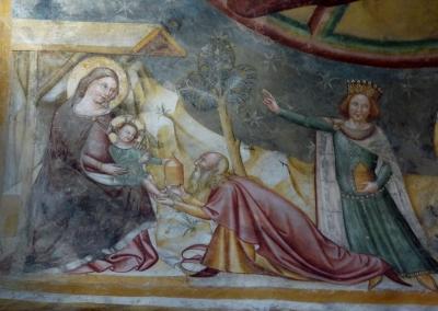 Anbetung des Christuskindes durch einen König