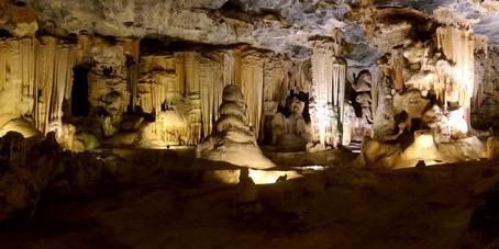 südafrikanische Tropfsteinhöhle