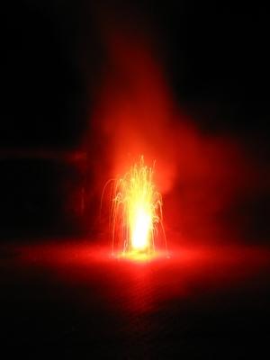 Feuerfontäne