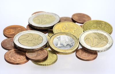 Kleingeld in Euro-Münzen