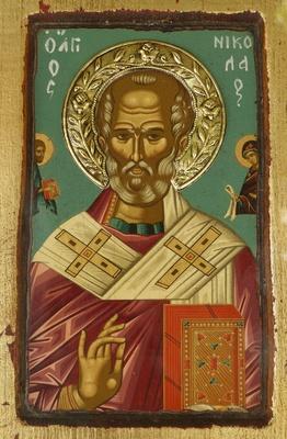 Ikone St. Nikolaus