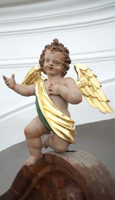 Singender Engel