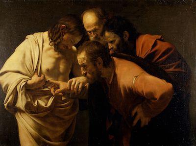 Caravaggio-Ungläubige Thomas