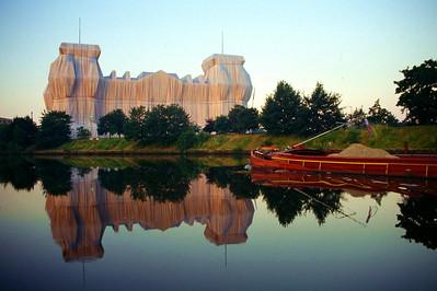 Verhüllter Reichstag von Christo