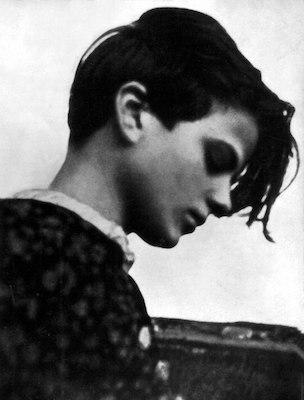 Bild von Sophie Scholl, 1942